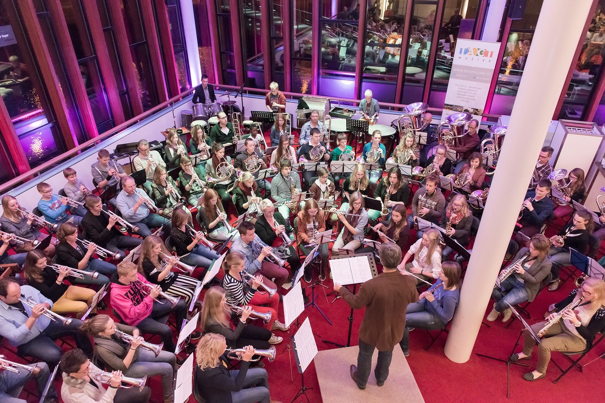 Artes7 orkest uitvoering